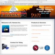 B. Hansen Signs HardLight for New Website