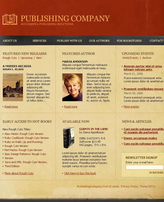 Publishing Website