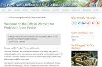 Brian Peskin gets a new site